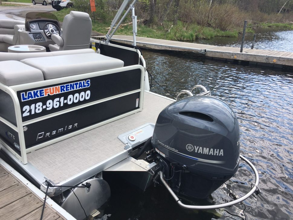 Performance Tritoon Rentals – Brainerd Lakes Area, MN - Lake